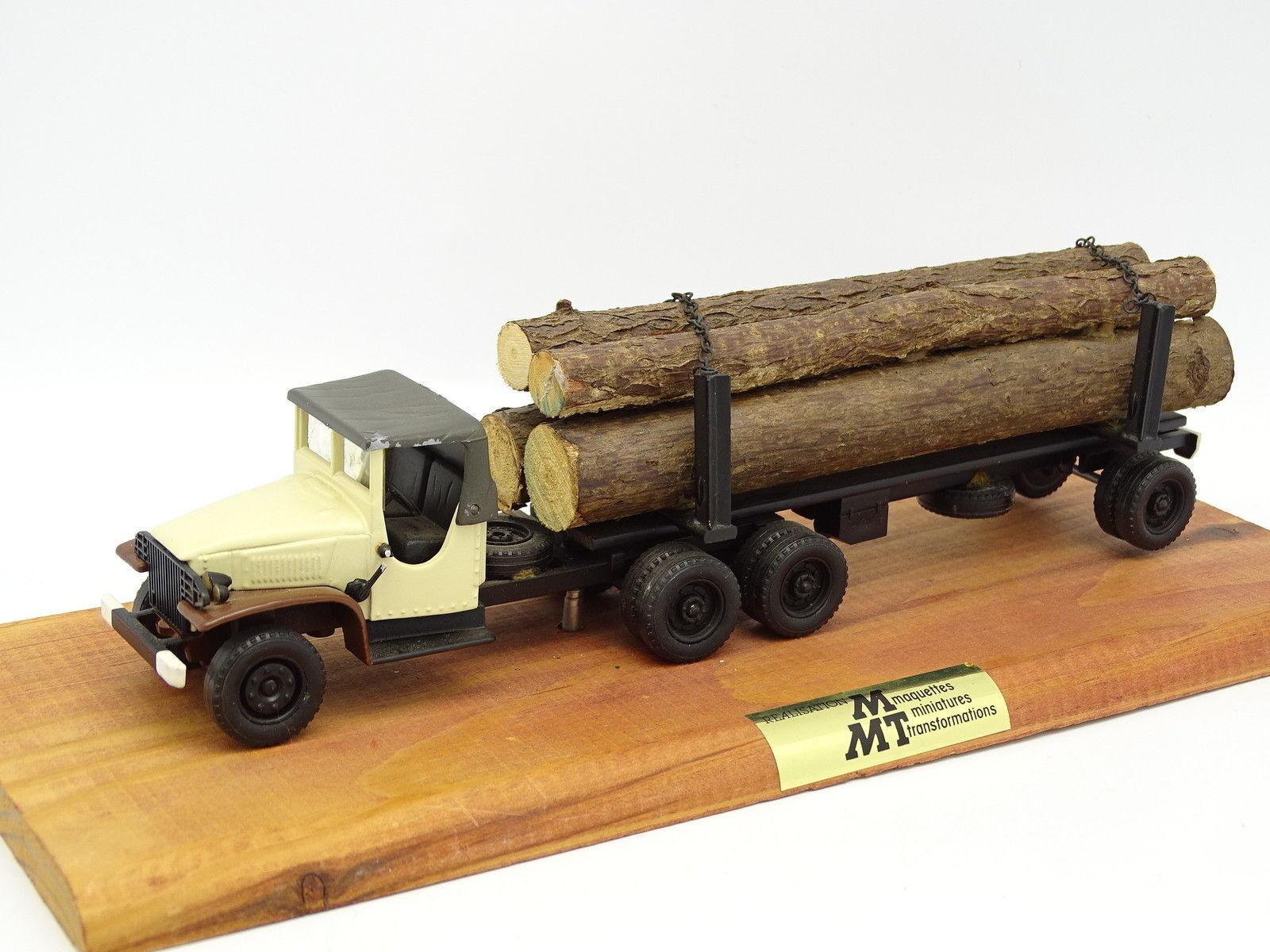 Resin mounted mmt 1 50 - gmc log carrier