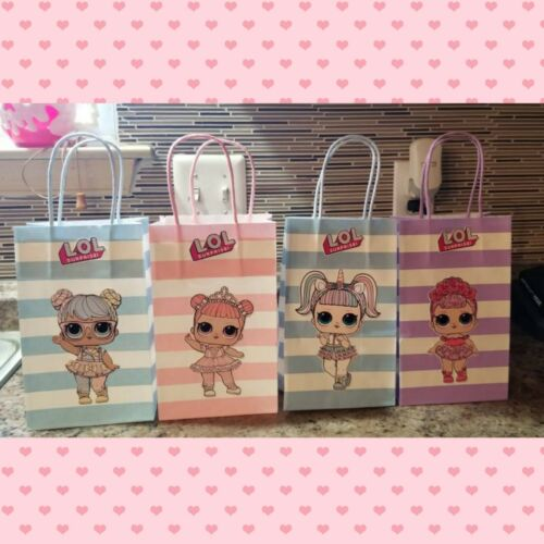 Handmade Lol Surprise Goodie Bags Set Of 13 Birthday Party Favor Bags