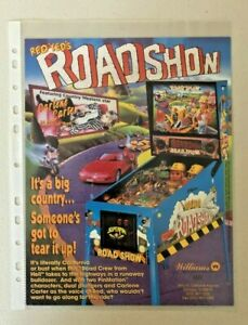 Williams  Red & Ted's Roadshow Pinball Flyer