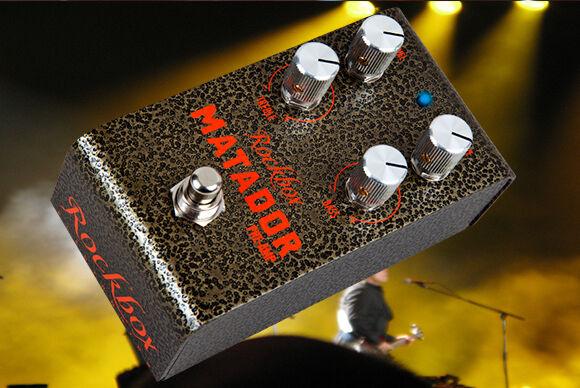 Rockbox Electronics-Matador Preamplificador Guitar Guitar Guitar Pedal Overdrive  cómodo