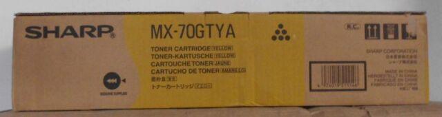 Original Sharp MX-70GTYA Toner yellow für MX 5500 6200 7000 N OVP A
