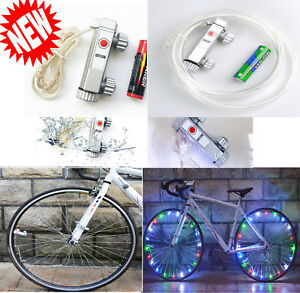 20 LED Bike Bicycle Cycling Rim Lights LED Wheel Spoke Light String Strip Lamp K