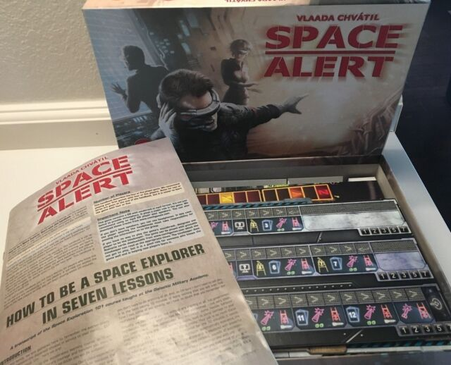 Space Alert Board Game Czech Games Edition