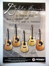 PUBLICITE-ADVERTISING :  Guitares PEAVEY Delta Series  03/2001