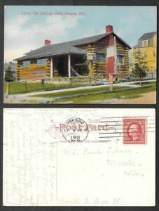 1911 Wisconsin Postcard Wausau The