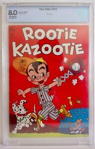 Four-Color-415-Rootie-Kazootie-CBCS-8-0-1952-Dell-Dan-Gormley