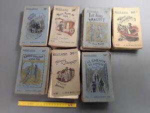 Details Sur Lot De 21 Livres Ancien Roman Mignon Roman Vieux Livre