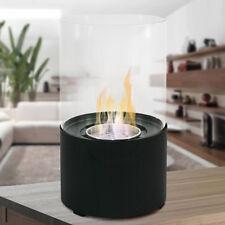 Divina Fire Bio camino bioetanolo 2kw/h design moderno da tavolo OXFORD NERO