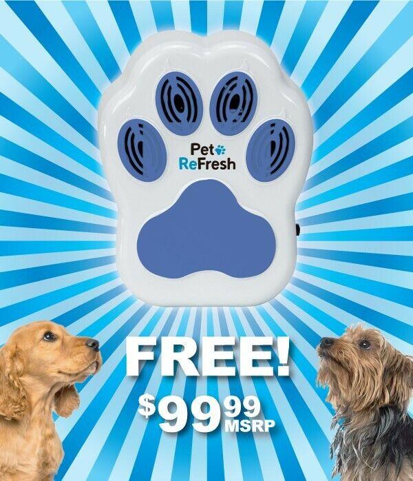 Pet refresh air purifier ,place near pet beds,litter boxes,trash cans.