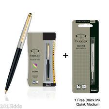 Parker Galaxy GT Ball Pen Black Body + 1 Free Medium Black Ink Fast Ship-US Sell