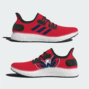 new arrival 690cf 2e61f Image is loading adidas-AM4-Speedfactory-NHL-Washington-Capitals -Limited-Shoes-