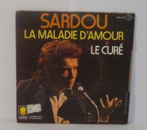 MICHEL-SARDOU-Enfermedad-Amour-El-Sacerdote-VINILO-45-Tours-6061472-TREMA-1973