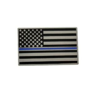 Exceptional Image Is Loading Thin Blue Line Lapel Pin Subdued American US