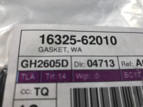 Toyota OEM Thermostat Housing water Outlet Gasket 16325-62010 Factory Various
