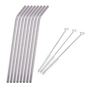 8pcs-Yent-acier-inox-Paille-pour-boire-Kit-pailles-3pcs-Cleaner-brosse-droite