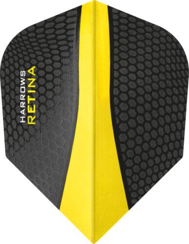 Harrows Retina Extra Strong Dart Flights 100 Micron Revolutionary New Shape