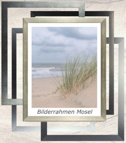 Bilderrahmen Mosel MDF 50 x 75 cm mit Farbwahl und Verglasungsoptionen