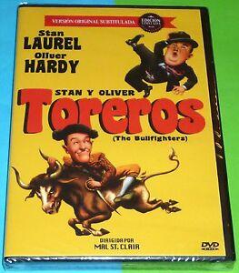 TOREROS-Stan-y-Oliver-THE-BULLFIGHTERS-Precintada