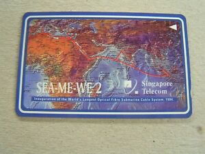 Details about SINGAPORE used GPT card 1SSWA SEA-ME-WE 2