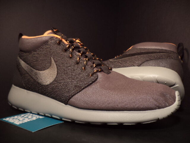 Nike ROSHE RUN ROSHERUN Mid QS LONDON SMOKE COOL GREY GRANITE 585898-222 DS 9