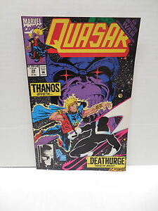 quasar marvel comic book 39 cosmic powers thanos cover infinity