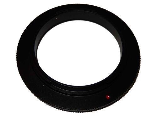 Cámara retro adaptador umkehrring para 52mm objetivamente a Nikon d60 d70s d70
