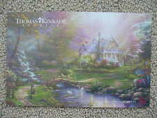 A MOTHERS PERFECT DAY - A MOTHERS LOVE I, THOMAS KINKADE STUDIO DEALER POST CARD
