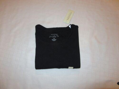 Sonoma Long Sleeve Crewneck /& V-Neck Women/'s T-Shirts XL,L,M,S,Some Color