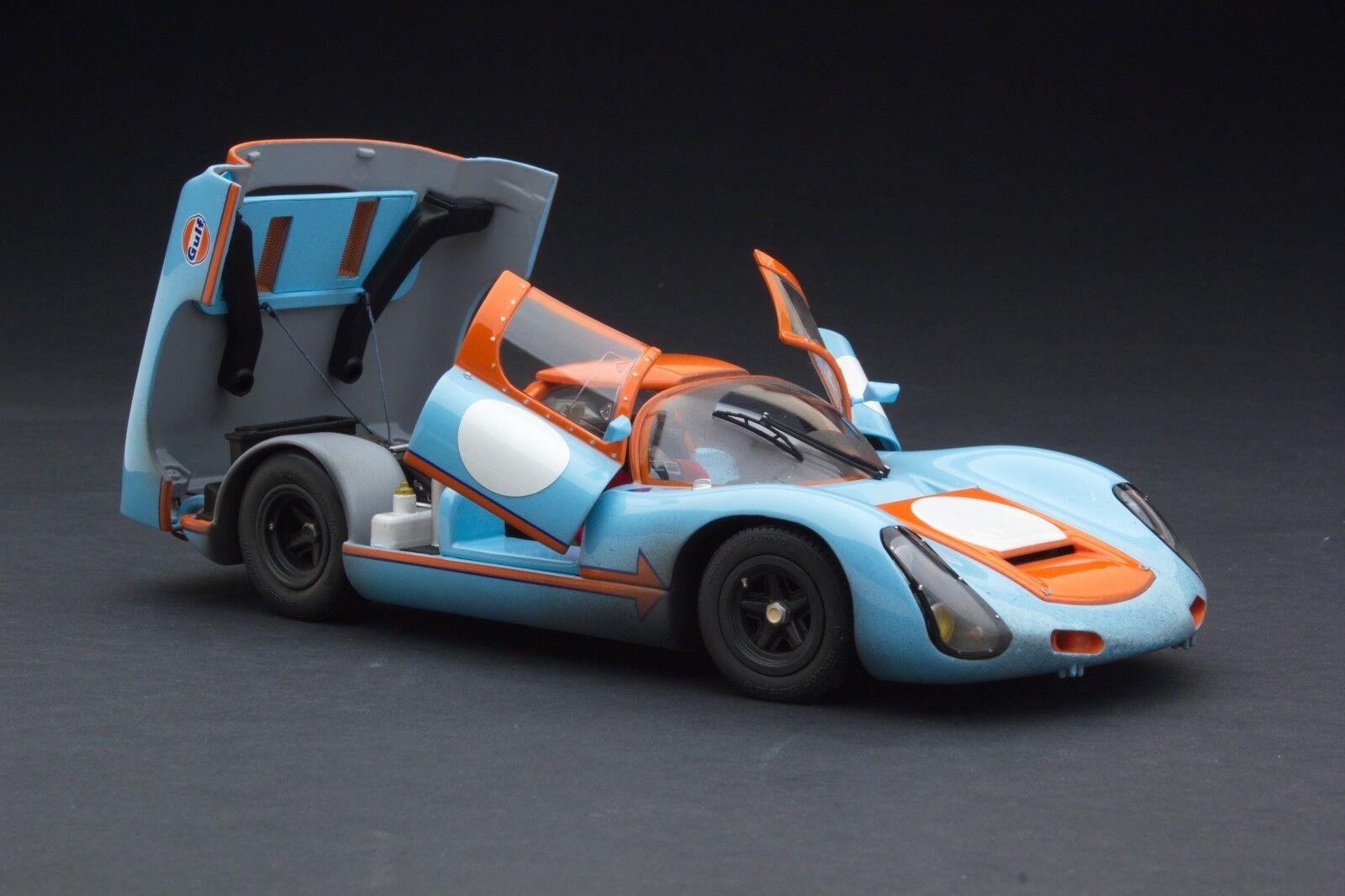 Carrera resistidoExoto Gulf Porsche 910Vintage Racing1:18MTB 00064 AFLP