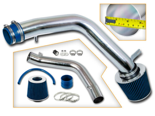 BCP BLUE 04-08 Acura TL Base 3.2L V6 Cold Air Intake Racing System Filter