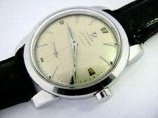 Vintage 1952 Mens OMEGA WATCH Co. Bumper Auto Wristwatch 344 17J Ref. 2576 RUNS