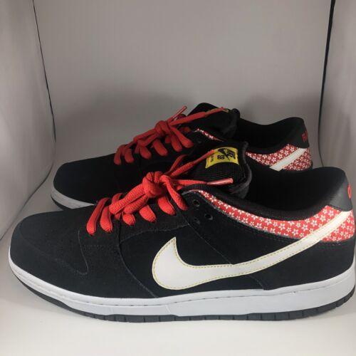 Nike SB Dunk Low Black FIRECRACKER Size 12 - Vnds