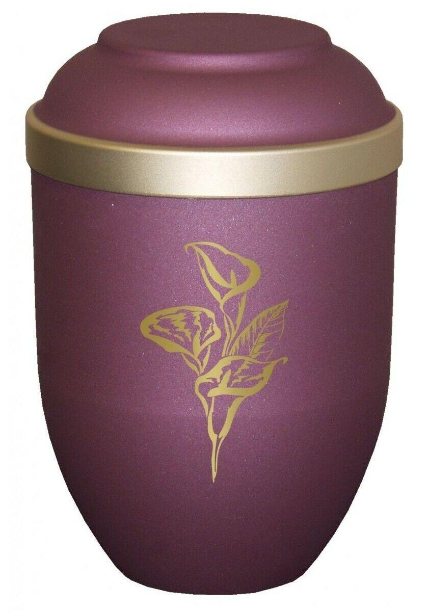 Lis Rose Bio Urne Cendres Incinération - Uu120015b