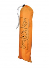 UST Base All Weather Tarp for One...Tarp + Guy lines + 6 Stakes...Survival Gear!