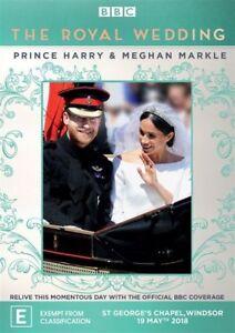 The-Royal-Wedding-Prince-Harry-amp-Meghan-Markle-DVD-NEW-Region-4-Australia