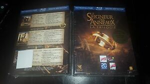 The Lord Of The Rings Trilogy Bluray Exclusivo Metropolitan Caja Metálica