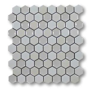 Hexagon Porcelain Mosaic Tiles