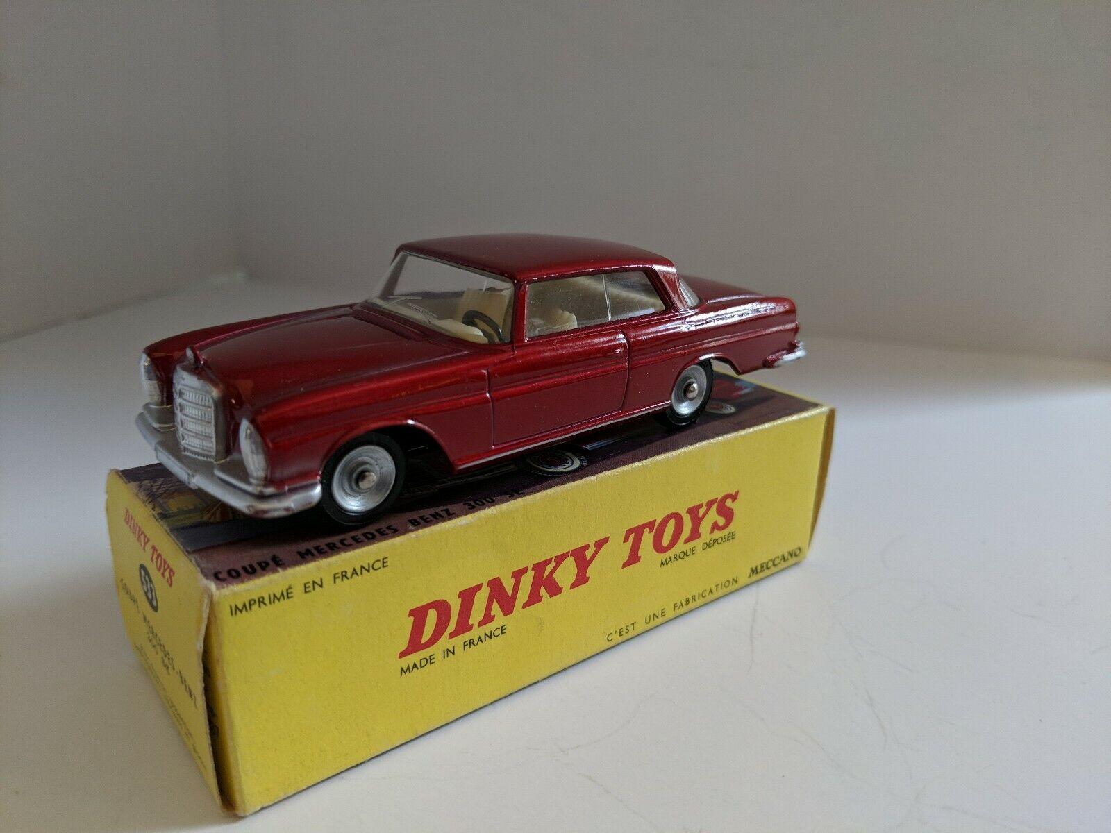 sin mínimo Dinky Juguetes Juguetes Juguetes 533 Mercedes Benz 300SE con Caja, 1963-70 Como Nuevo Original Hecho En Francia  preferente