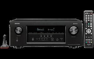 Denon AVR-S930H 7.2 Channel Full 4K Ultra HD AV Receiver with HEOS