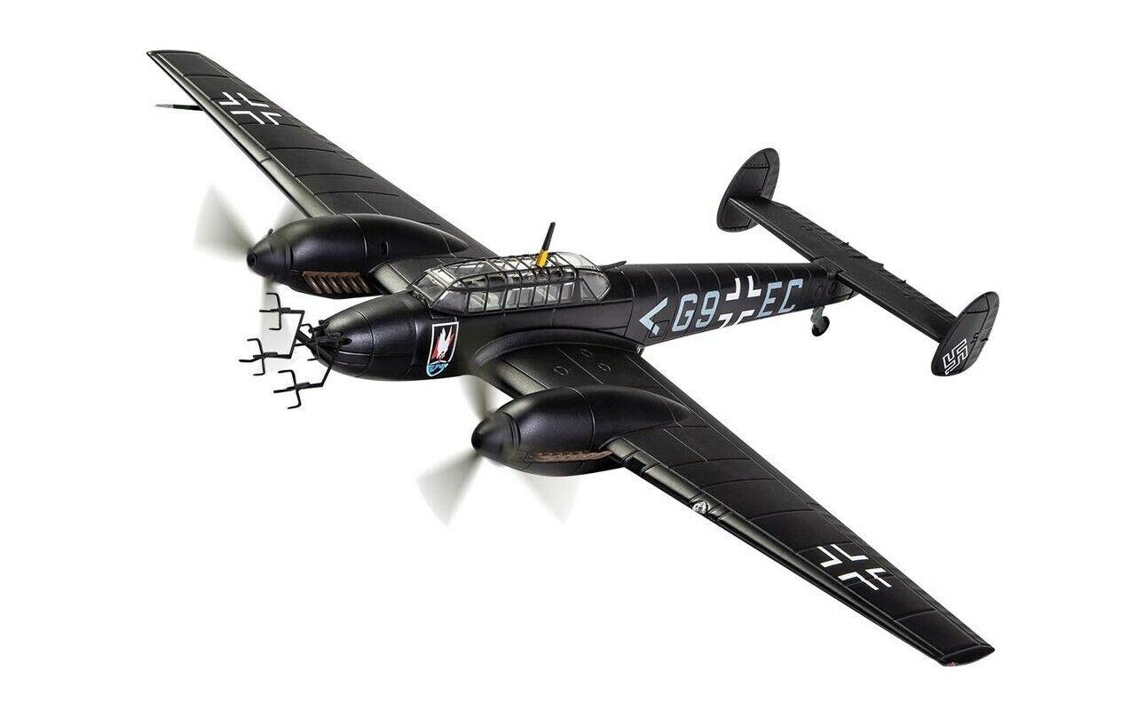 CORGI AA38508 1 72 Messerschmitt BF110E G9EC Stab II. NJG 1 Deelen HOLLAND 1942