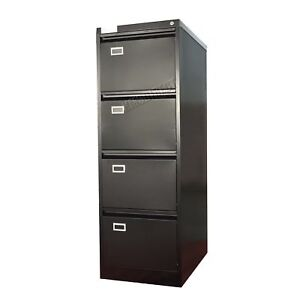Image Is Loading Foxhunter Steel A4 Filing Cabinet With 4 Drawer