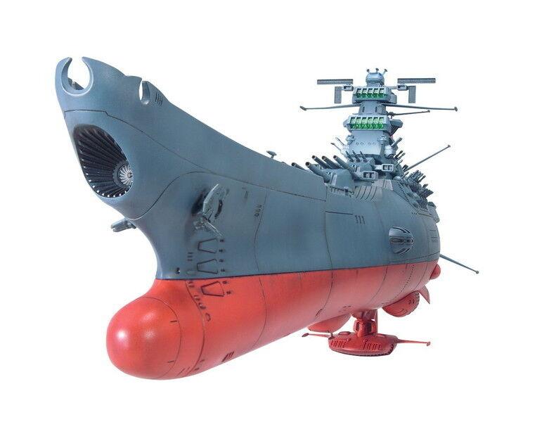 1 500 Scale Model Kit Space Battleship Yamato Bandai Assembly Kit from Japan New