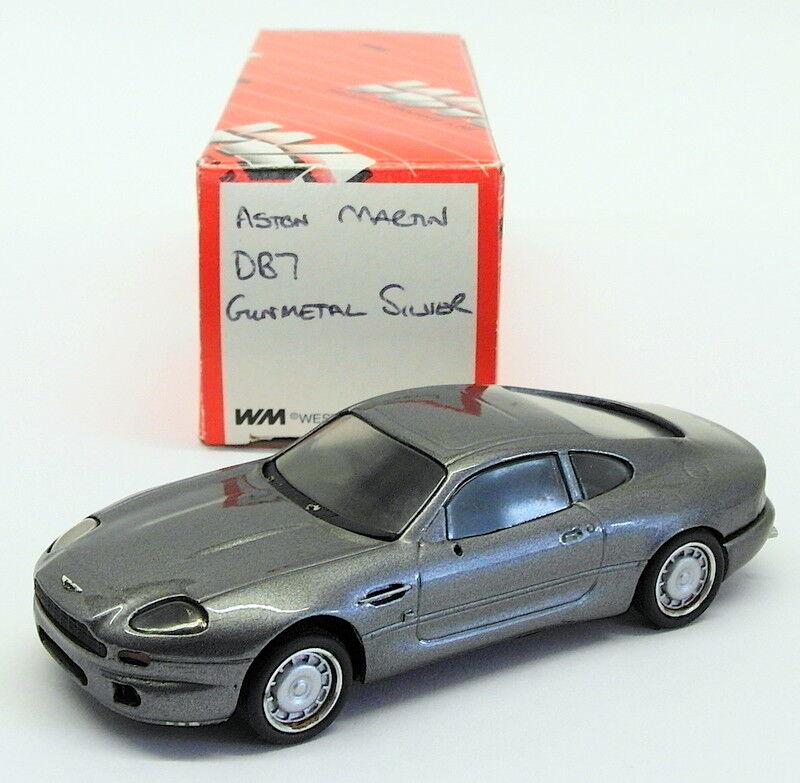Western Models scala  23318E-ASTON MARTIN DB7-Gunmetal d'argentoo
