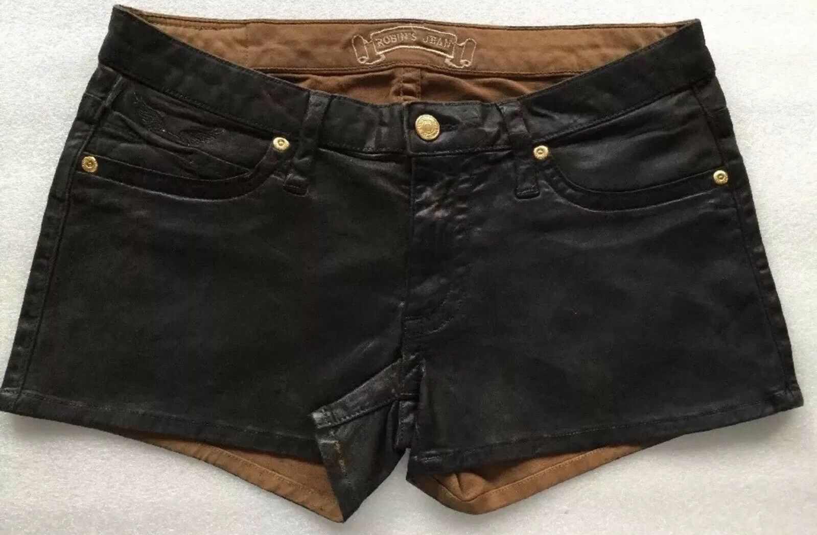 100% AUTHENTIC New Robin's Jean Stretch Shorts  Size 31