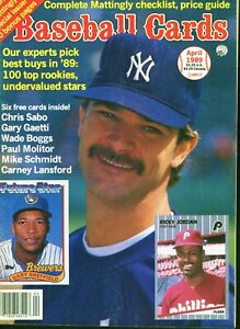 Apr-1986-Baseball-Cards-Magazine-with-6-insert-cards-Chris-Sabo-Rookie
