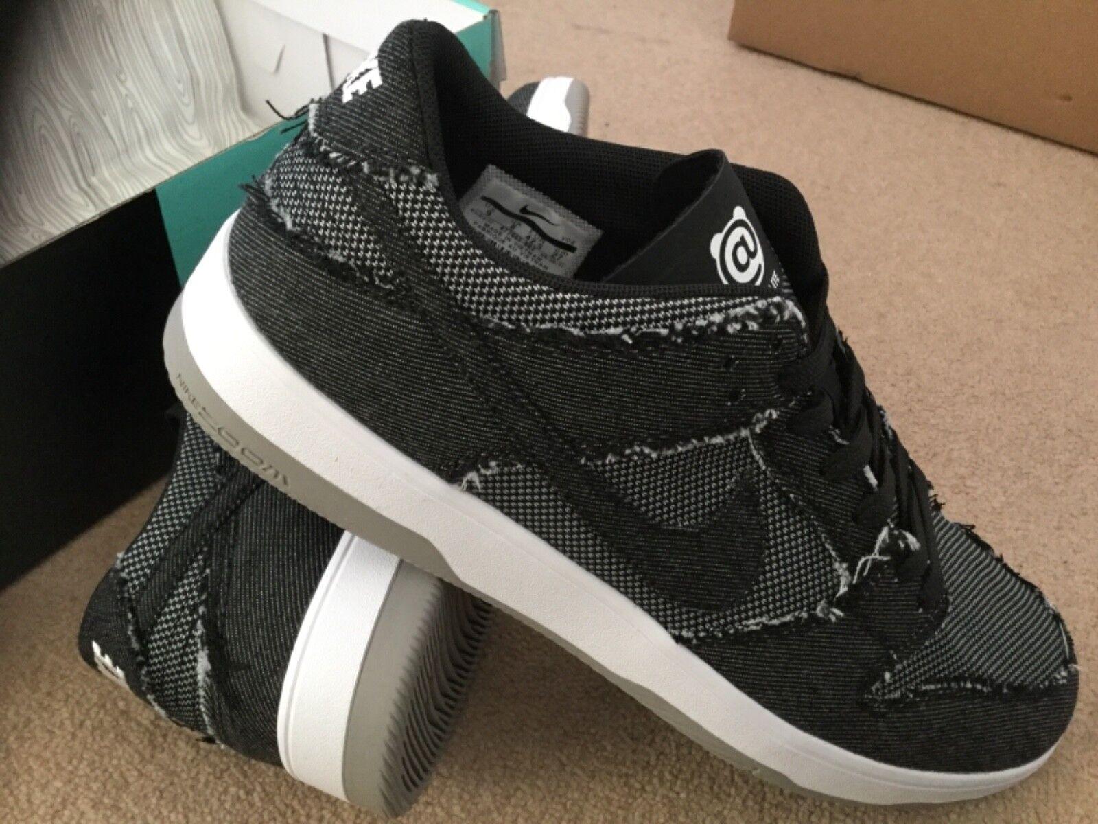 Nike SB DUNK basse Elite x Medicom be@rbrick UK9/ 10 NUOVO CON SCATOLA scorte morte.