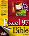Excel 97 Bible by John Walkenbach (Paperback, 1997)