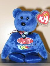 Jeff Gordon Retired  24 Ty Beanie Babie NASCAR Stock Car Driver Bear 3up  40635 deaf0549f2f