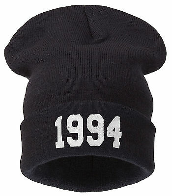 Men's Women's beanie hat 1994 beanie date of birth london justin bieber Wasted