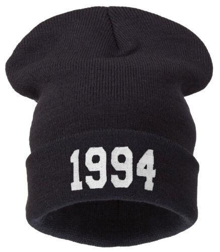 Kniteted Beanie Hat Winter Warm Wooly Mens Ladies Ski Skull 1994 Worm
